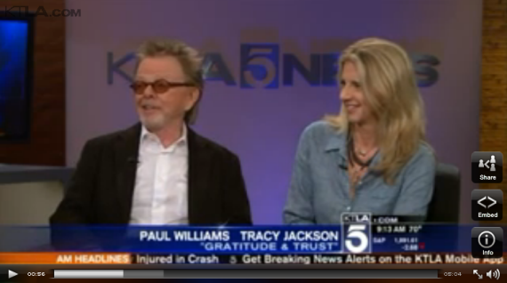 Video: Tracey Jackson & Paul Williams on KTLA 5 Morning News